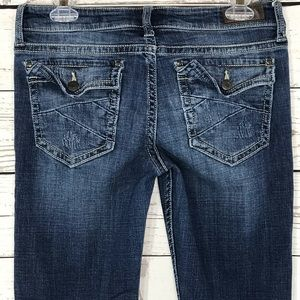 Daytrip Jeans Lynx Bootcut Distressed Low-Rise